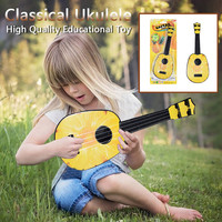 Beginner Classical Ukulele Cute Pineapple Shape Dapper Beginners Ukuleles Watermelon Orange Fruit Guitar Musical Instrument Toy
