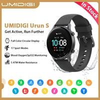 UMIDIGI-reloj inteligente Urun S para Android IOS, deportivo, resistente al agua hasta 5atm, con control del ritmo cardíaco y del sueño, 1,1