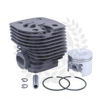 Kostenloser Versand Zylinder für Stihl FS550  FS420 (46mm) Nikasil Überzogene Zylinder Kit|Elektrowerkzeuge Zubehör|Werkzeug -