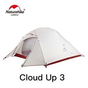 Image 2 - Naturehike Cloud Lên Serie 123 Nâng Cấp Lều Cắm Trại Chống Nước Ngoài Trời Đi Bộ Đường Dài Lều 20D Nylon 210T Mang Trang Bị Sau Lưng Lều Với Giá Rẻ thảm