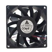 Para delta ffb0912vhe 9 cm 9038 90x90x38mm dc 12 v 0.75a grande ventilador de refrigeração do chassi do volume de ar