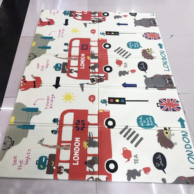 Складной игровой коврик XPE 0,5 x см коврик для лазания см детский коврик для ползания водонепроницаемый коврик для малышей в детском зале для ...