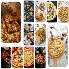 Pizza Diy Druck Zeichnung Weichen TPU Silikon Telefon Fällen für iPhone X XR XS 11 Pro Max 10 7 6 6s 8 Plus 4 4S 5 5S SE 5C