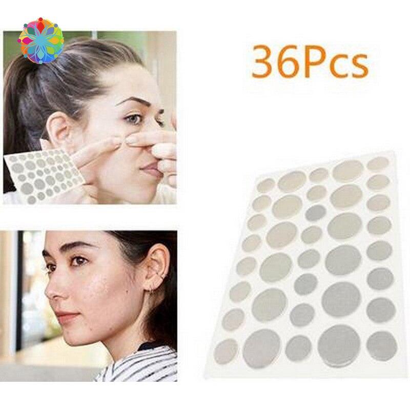 36 areas de pces removedor acne ferido ou problematico remendo pele tags cuidados com o rosto