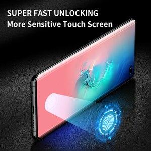 Image 2 - Ihaitun Full Cong Cường Lực Kính Cường Lực Bảo Vệ Màn Hình Trong Cho Samsung Galaxy S10 S10E S9 S8 Plus Note 8 9 10 kính Phụ Kiện