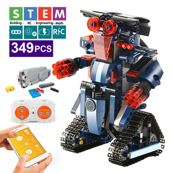 392PCS Creative Electric Remote Control Machinery Building Blocks legoINGlys Technic RC Robot Bricks Toys & Hobbies For Children