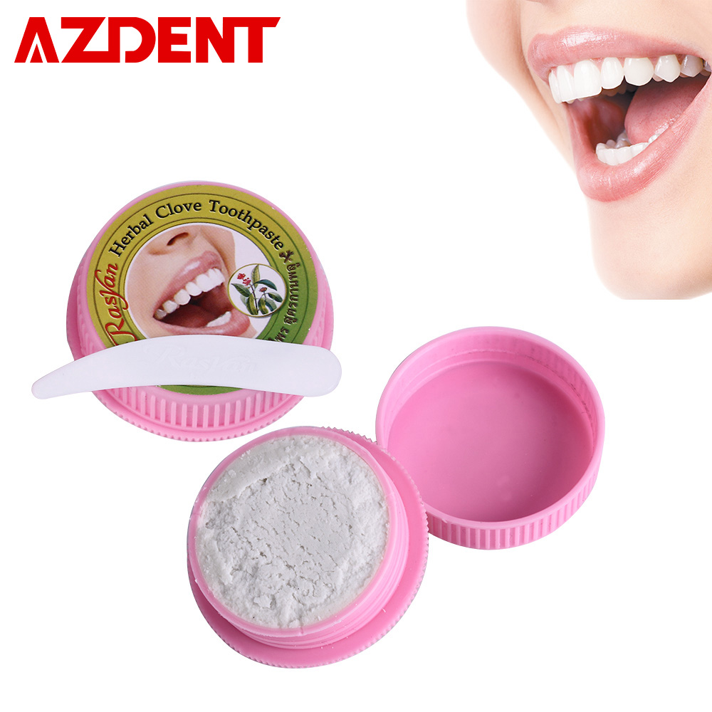 10g/25g Toothpaste Teeth Tooth Whitening Natural Coconut Herb Clove Mint Flavor Tooth Paste Kit Dentifrice Remove Stain Cleaning