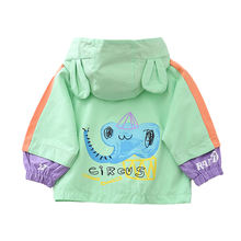 Весенне Осенняя детская хлопковая одежда для маленьких мальчиков