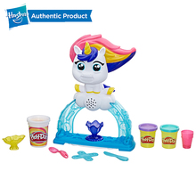 Hasbro Play-Doh Tootie the Unicorn Ice Cream Set with 3 Non-Toxic Colors Featuring Play Doh Color Swirl Compound