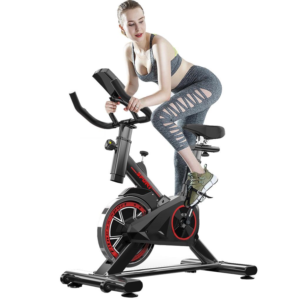 Bicicleta de ejercicio casa ultra-silencioso interior pérdida de peso pedal bicicleta de ejercicio spinning bike equipo de entrenamiento interior - 2