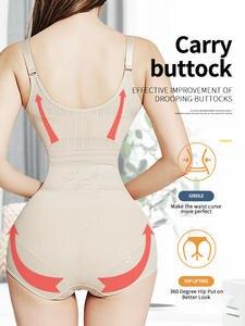 Corrective Underwear Butt-Lifter Slimming-Belt Waist-Trainer Strip Woman