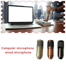 Bm-800USB Computer Wired Microphone Cardioid Condenser Microphone Computer Meeting Only Home Use For Recording