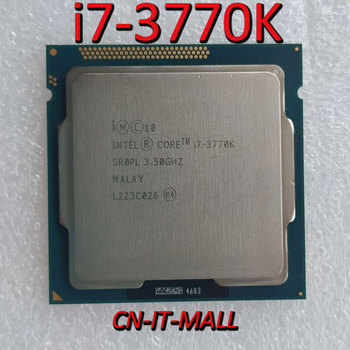 Intel Core i7-3770K CPU 3.5GHz 8MB Cache 4 Cores 8 Threads LGA1155 Processor