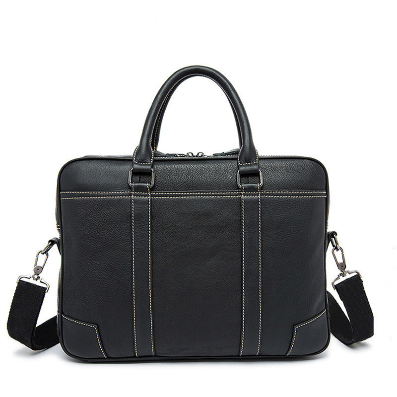 2020 Genuine Leather Male Package Business Affairs Head Layer Cowhide Handbag Man Briefcase Single Shoulder Satchel Computer Bag