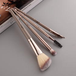 Anmor 4Pcs Contour Make-Up Pinsel Set Für Eye Make-Up Pinsel Für Pulver Highlighter Eyeliner Lidschatten Blending Cosmetic Werkzeug kit