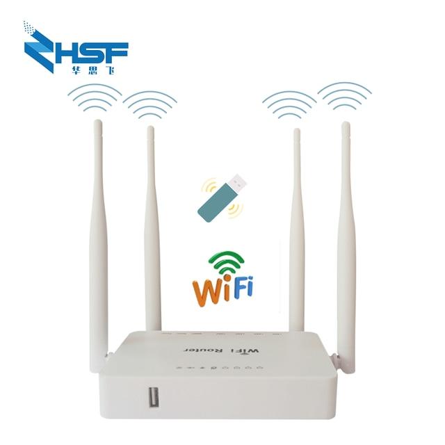 WE1626 300Mbps Usb módem Wifi Compatibilidad de enrutador 3G4G módem E3372/E8873 4G LTE módem USB Strongth señal con 4 Aatennas
