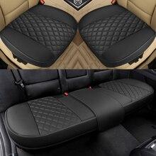 Luxus Leder Auto Sitz Abdeckung Universal Set Volle Abdeckung Fit für Die Meisten Autos Vier Jahreszeiten Protector Matten Auto Innen Zubehör