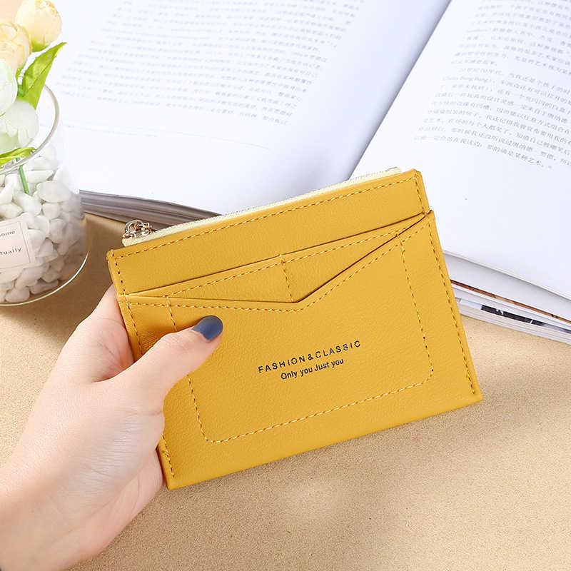 Wallet Case Rood/Geel/Zwart/Blauw Pu Lederen Bank/Id/Credit Card Wallet Kwaliteit rits Bedrijf Kaarthouder Vrouwen/Mannen