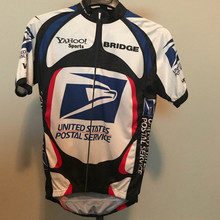 Cycling Jersey Race-Fit Postal-Service Maillot-Ciclismo Classic Short-Sleeve Tops United-States