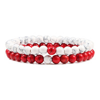 6mm white-red
