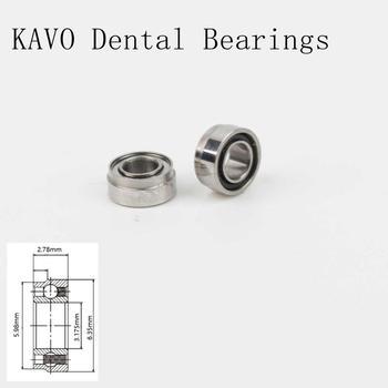 10pcs High speed KAVO handpiece Ceramic Dental Bearings SR144TLKZWN cartridge for dental high speed handpiece rotor kavo 659b