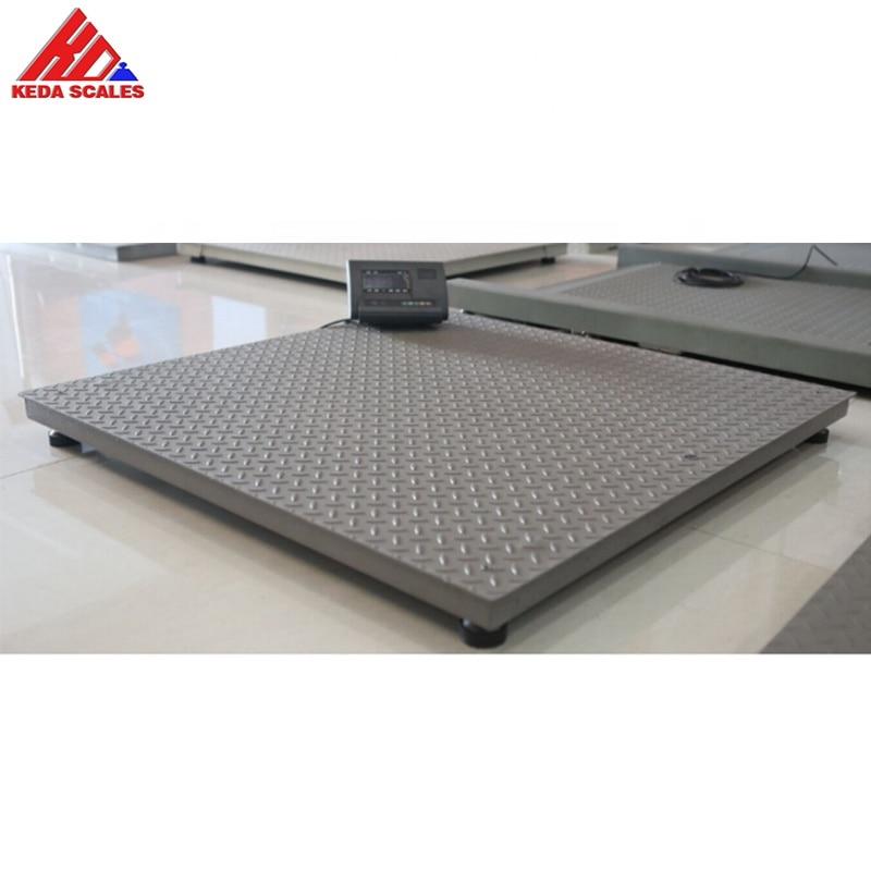 1000 Kg Digital Weight Scale Machine Platform Floor Scale Industrial Weighing Scale 1 Ton 1mx1m Platform Scales