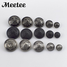 20Pcs/Pack High-grade Skull Metal Button Shanks Fashion Men Coat For Clothes Sewing Accessories DIY Crafts D3-1