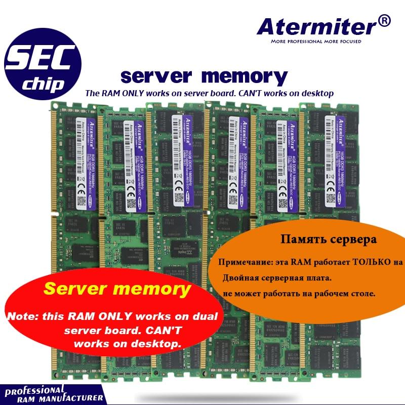 4GB 8GB 16GB 32GB 16G DDR3 PC3 1866Mhz 1600Mhz 1333Mhz 14900R 12800R 10600 R 1333 1600 PC Server PC Memory RAM Memoria Module RAMs  - AliExpress