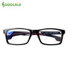 SOOLALA Anti Blau Licht Lesebrille Frauen Männer Blau Licht Blockieren Computer Gläser Presbyopie Brillen Für Leser Dioper