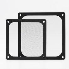En-Labs 12CM Magnetic Frame Black Mesh Dust Filter PC Cooler Fan Filter with Magnet , 120x120mm Dustproof Computer Case Cover