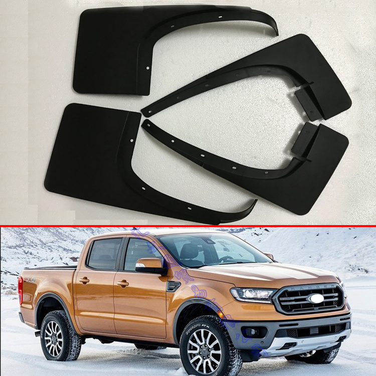 For Ford Ranger 2012 2013 2014 2015 2016 2017 2018 Mud Flaps Splash Guard Mudguards Fender 4PCS/Set