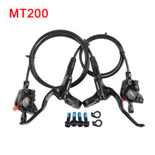 BR BL MT200 Bicycle MTB Hydraulic Disc Brake 850/1450mm Mountain Clamp Brakes upgraded Shimano MT315B Top Bicycle Spare Parts