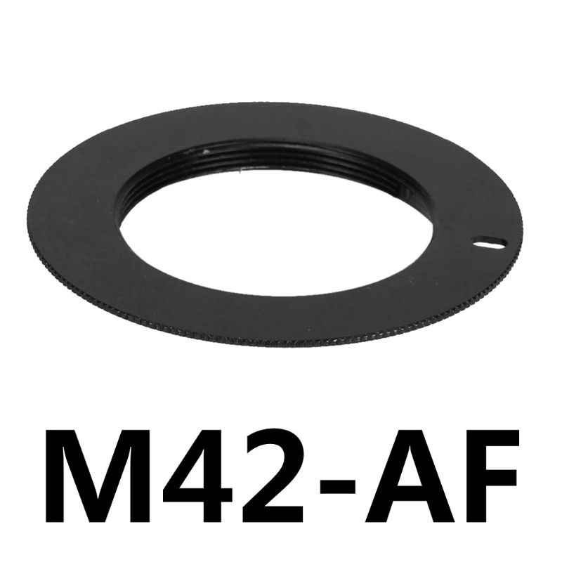 WT-DDJJK Anillo Adaptador de Lente Lente de Tornillo M42 para Sony Alpha A AF Minolta Anillo Adaptador de Metal de Montaje MA