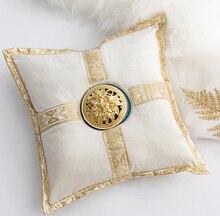 Luxury Middle East Ceramic Incense Burner Pillow Censer Holder Creative Golden Cushion Tea House Yoga Accessories Home Decor