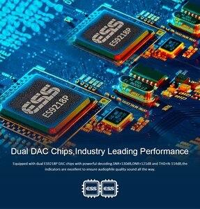 Image 3 - Hidizs AP80プロデュアルESS9218P bluetoothポータブル音楽プレーヤーMP3 usb dac高解像度オーディオDSD64/128 apt x/ldac fmステップカウンター