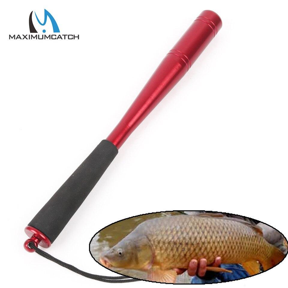 Maximumcatch Modern Shape Aluminum Machine Cut Fishing Priest Fishing Tool Fishing Accessory(Head Diameter 22mm/25mm