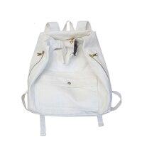 Bag Female Korean Version Of Harajuku Ulzzang College Backpack High School Korea Vintage Sense Ins Wind Canvas Backpack