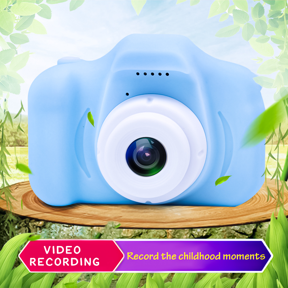 Multilingual  Mini Child Camera Digital Camera 8 Million 13 Million Pixels HD Children's Camera Toy Can Take Pictures