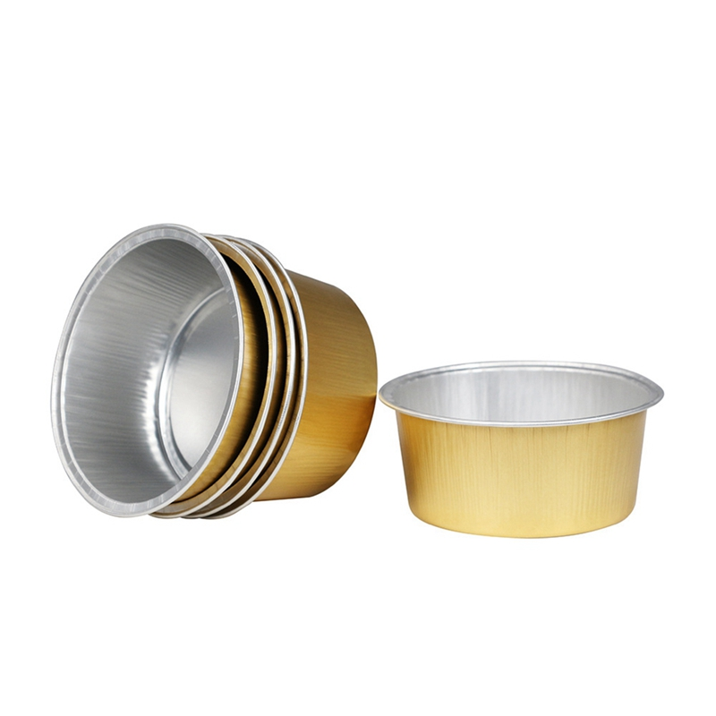 10Pcs/Set 2019 New Hair Removal Tool Container Golden Aluminum Foil Bowl Wax Bean Melting Wax Bowl