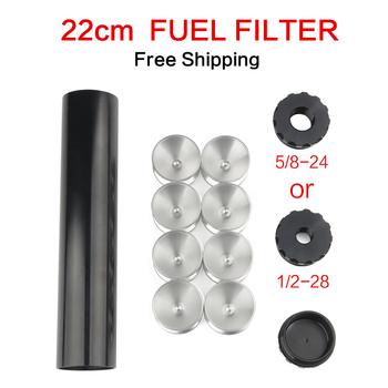 1 zestaw 1 2-28 i 5 8-24 filtr paliwa samochodowego rozpuszczalnik D kubek do przechowywania komórek dla NAPA 4003 WIX 24003 L 8 74 #8222 OD 1 70 tanie i dobre opinie mrhello 22cm 4 3cm aluminum 0 52kg FUEL FILTER China The engine