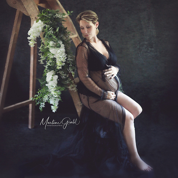 Deep V Sexy Maternity Photography Props Maxi Long Pregnancy Gown Tulle Women Dresses Front Split Pregnant Robe Photo Shooting sexy v neck pregnancy dresses split front maternity shoot dress photography long pregnant women maxi maternity gown photo props