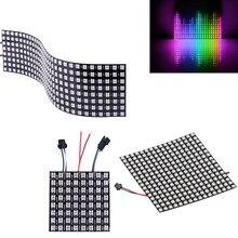 WS2812B matrice Pixel Led panneau Module Pixels écran numérique matrice Flexible SK6812 ws2812 individuellement adressable puce IC 5V