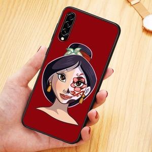 Image 2 - Disney Mulan Princess For Samsung Galaxy A90 A80 A70 A70S A60 A50 A40 A30 A30S A20S A20E A10E TPU Soft Phone Case