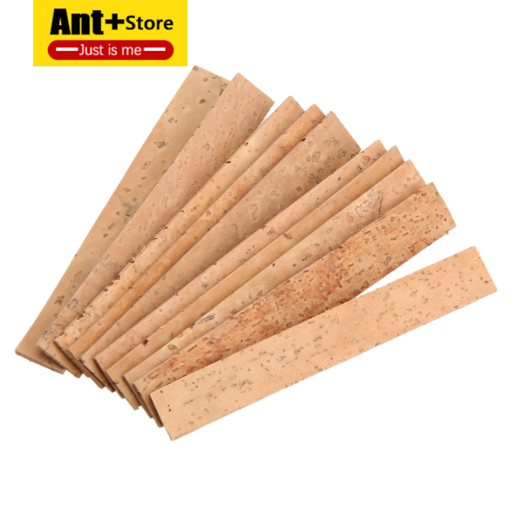 10Pcs/Lot Clarinet Cork Bb Joint Corks Sheets For Saxophones Musical Instruments Accessories81 X 11 X 2 Mm