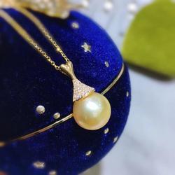 Шикарная Подвеска из желтого золота 18 карат установки настроек AU750 ювелирных изделий для жемчуг кораллового цвета агат хрустальные бусины ...