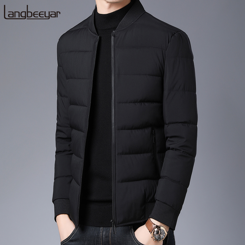 2020 Thick Winter Fashion Brand Jackets Men Padded