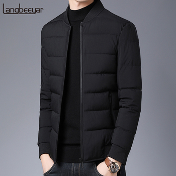 2020 Thick Winter Fashion Brand Jackets Men Padded Jackets Streetwear Parkas Quilted Jacket Puffer Bubble Coats  Mens Clothing цена 2017