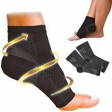 Hot Sale Unisex Socks Fashion Men Sock Women Foot Angel Compression 1 to 4 SLEEVE Plantar Fasciitis Anti Fatigue (S/M/L/XL)