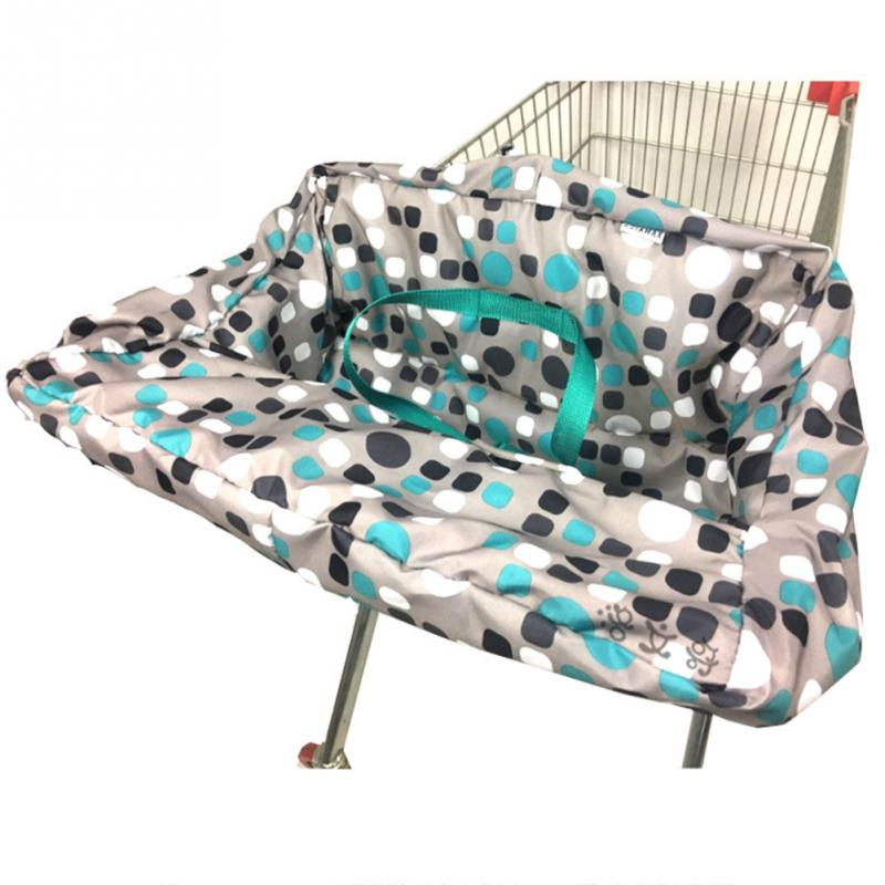 Polyester Non-Slip High Chair Cover Multifunctions For Shopping Cart For Baby Seat Cover Mat