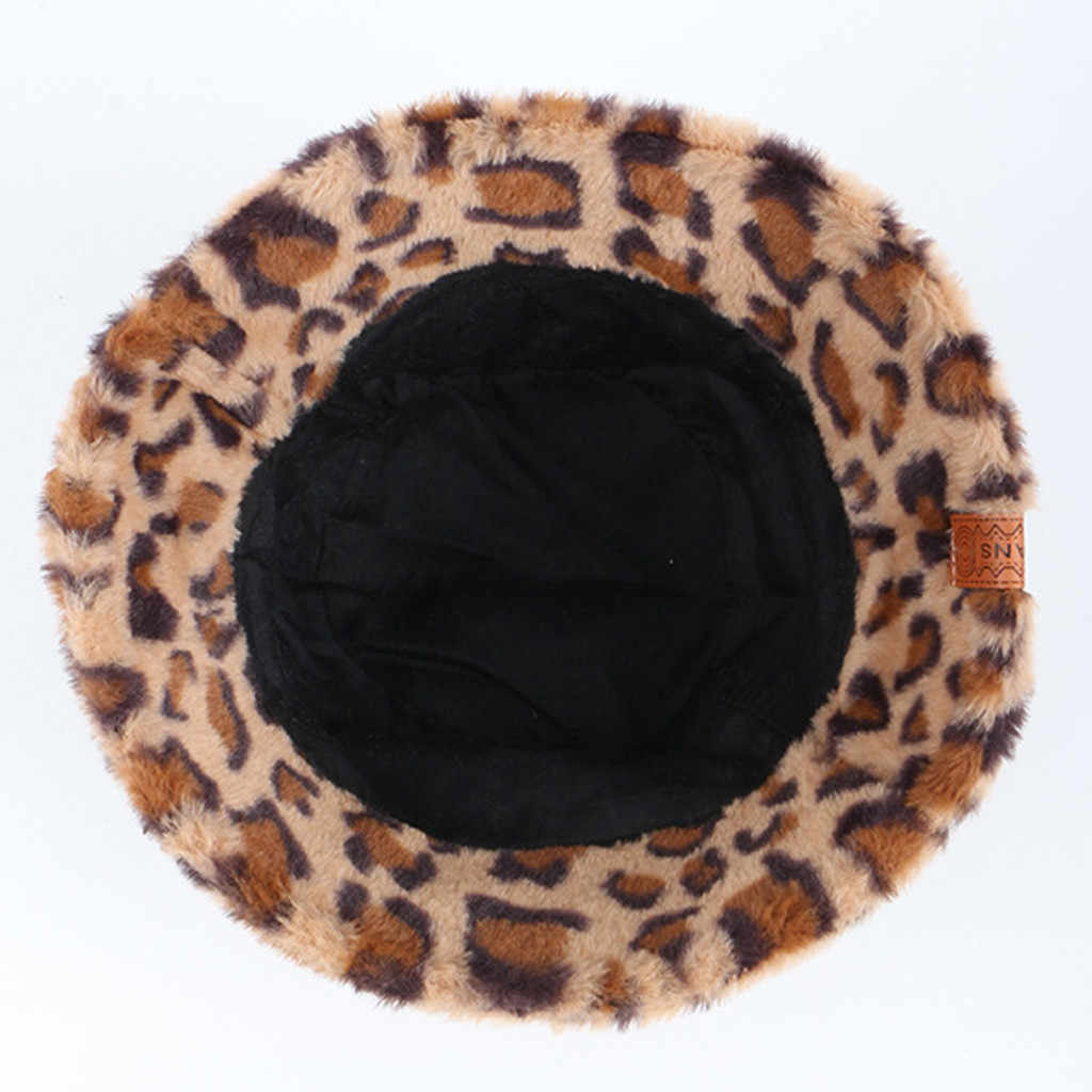 Faux Fur Bucket Hat Ladies Inverno Bonito E Quente Caps Caça панама Férias Cap Chapéus Balde Chapéu De Pesca Ao Ar Livre Macio
